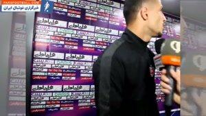انتقادهای تند علی علیپور در پایان دیدار پرسپولیس و پیکان