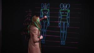 آموزش آشنایی با آناتومی بدن و طراحی فیگور در طراحی لباس
