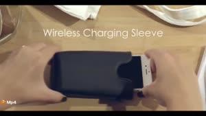 کیف موبایل با قابلیت شارژ