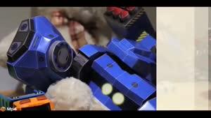 فناوری جدید در ربات های کاغذی با قابلیت برنامه نویسی