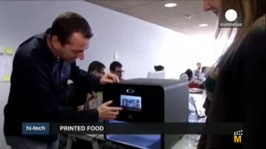 تولید چاپگرهایی باقابلیت تولید غذا