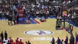 حرکات نمایشی بسکتبال