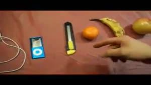 شارژ آیفون توسط میوه