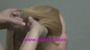 آموزش بافت موی خطی