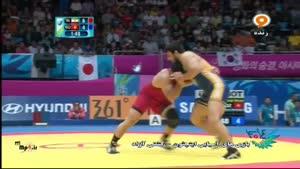 بازی های آسیایی - ایران - قرقیزستان