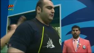 بازی های آسیایی - وزنه برداری- قهرمانی بهداد سلیمی