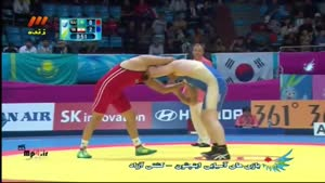کشتی ایران قزاقستان - پرویز هادی - کسب مدال طلا