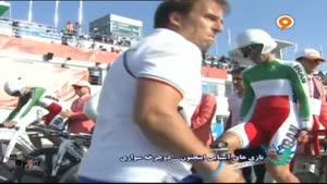 دوچرخه سواری ۴ نفره ایران و ازبکستان