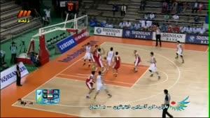 بسکتبال ایران ۱۰۷ - ۶۹ مغولستان کوارتر دوم