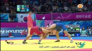 کشتی ایران قزاقستان - میثم مصطفی جوکار - کسب طلا