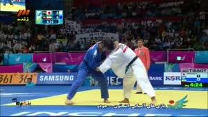 مسابقه ی جودو ایران و ژاپن - محمد جمالی