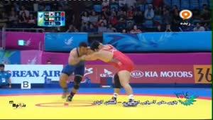 بازی های آسیایی - کشتی ایران - کره جنوبی