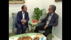 خنده دار ترین مصاحبه ی حسن ریوندی و رضا رفیع