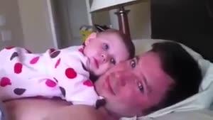 این پدر و دختر و ببین