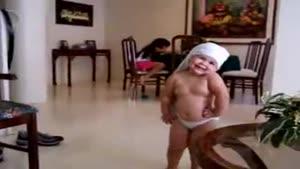 رقص هندی بچه