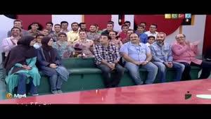 همخوانی جناب خان و سجاد افشاریان در خندوانه