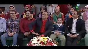 جناب خان و امیر حسین رستمی در برنامه خندوانه