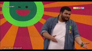اجرای استندآپ حسین شاهرخ نیا در شب اعلام نتایج خنداننده شو