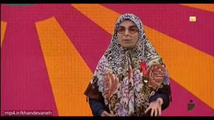 اجرای استندآپ زینب موسوی در مرحله سوم خنداننده شو