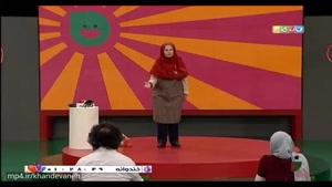 اجرای استندآپ آرزو صراف رضایی از شرکت کنندگان خنداننده شو