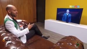 پشت صحنه اجرای امیرحسین رستمی در لباهنگ