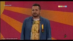 اجرای استندآپ محمدمعتضدی از شرکت کنندگان خنداننده شو