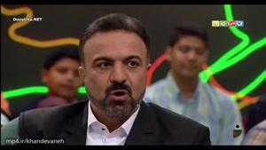 گفت و گو با آقای مرتضی حیدری مجری اخبار۲۲ در خندوانه