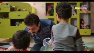بازی کردن ارژنگ امیرفضلی با کودکان (قولی که در خندوانه داده بود)