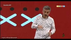 استندآپ کمدی ارژنگ امیرفضلی در شب اهدای جوایز مسابقه ادا بازی