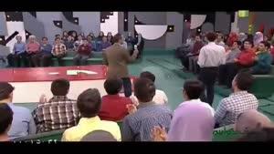 مسابقه در استودیو خندوانه به همراه جناب خان