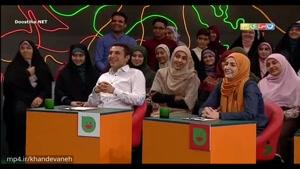 اجرای استندآپ علی ضیایی از شرکت کنندگان خنداننده شو
