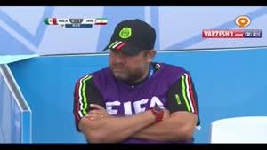 مسابقه زیبای فوتبال ساحلی ایران