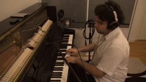 پیانو - نواختن آهنگ چرا رفتی همایون شجریان