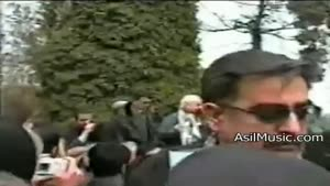 خاکسپاری استاد پرویز یاحقی