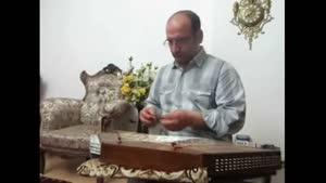 اجرای سنتور علی نوری گلبرگ سرخ لاله های سراج