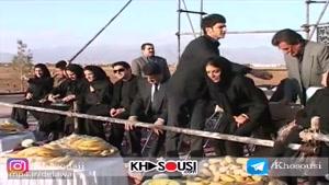 مراسم چهلم پرویز مشکاتیان – نیشابور – ۱۳۸۸