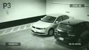 اینم یه مدله پارک کردن عجله ای