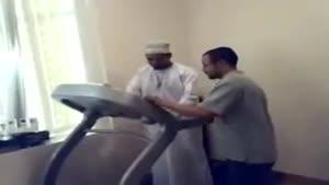 استفاده عرب از تردمیل