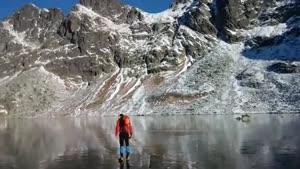 راه رفتن روی یخ