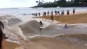 اسکی روی آب از نوع محلی