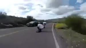 اسکیت برد با سرعت بالا