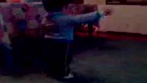 رقص ترکی با نمک یک بچه