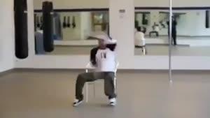 رقص زیبای یک معلول