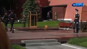مراسم تعویض شیفت مسکو