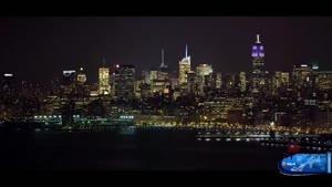 شهر نیویورک در شب
