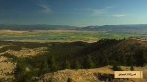 آمریکا از آسمان قسمت دهم شهر مونتانا