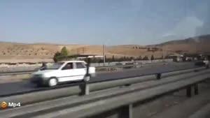 بازدید یک توریست خارجی از شیراز