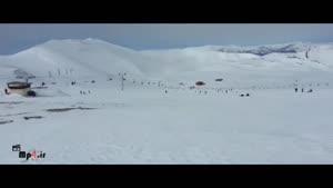 جاذبه های گردشگری زمستانی - پیست اسکی و هتل توچال