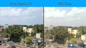 مقایسه گوشی z۱وhtc one