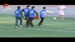 درگیری فیزیکی در لیگ یک